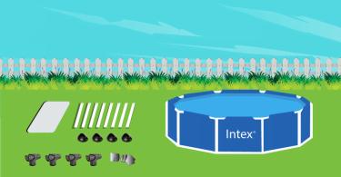 Intex Pool installation