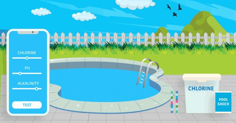Pool Chemical testing Apps
